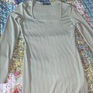 Ribbed Body con dress